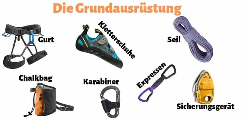 Klettern-Anfänger-Ausrüstung-Basics