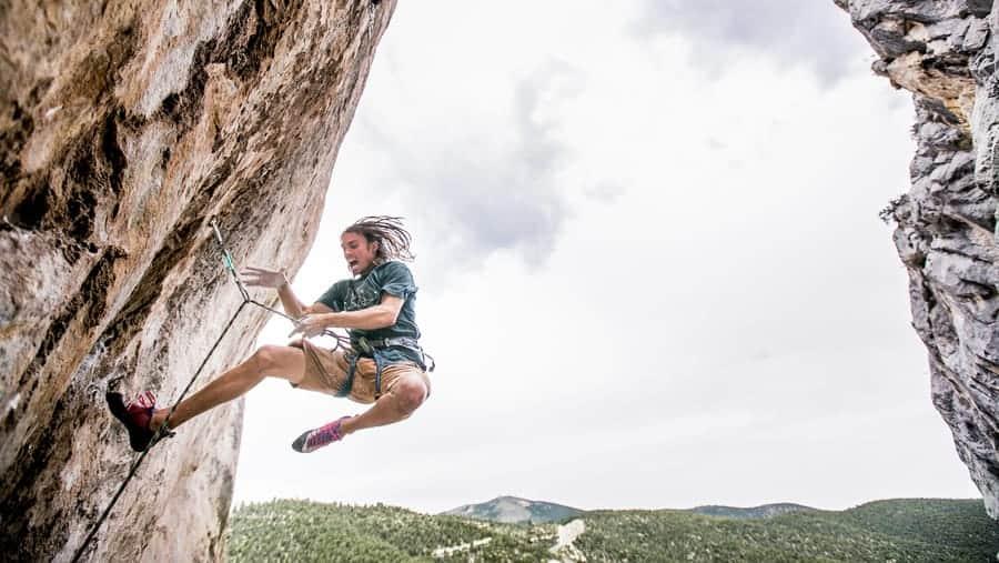 Sturztraining Klettern Sturztechnik