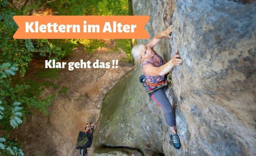 Klettern im Alter Titelbild