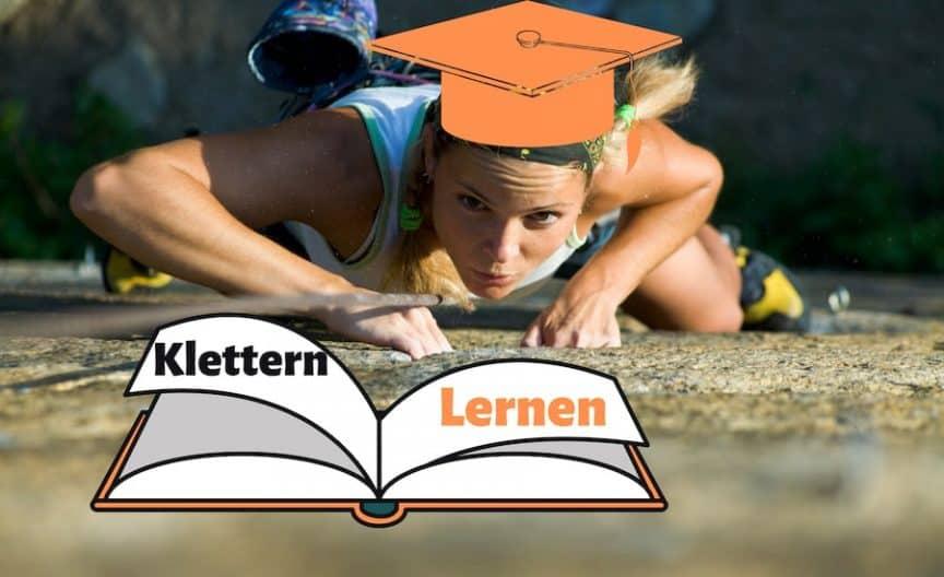 Klettern lernen Titelbild