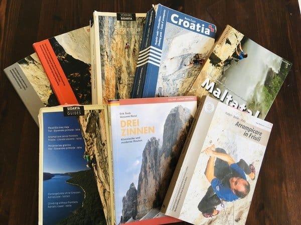 Kletterführer-Topo-Ausrüstung-Klettern