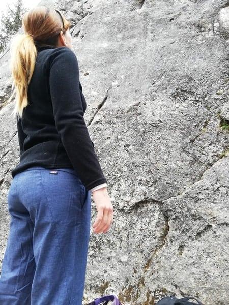 Boulderhose Frauen test2