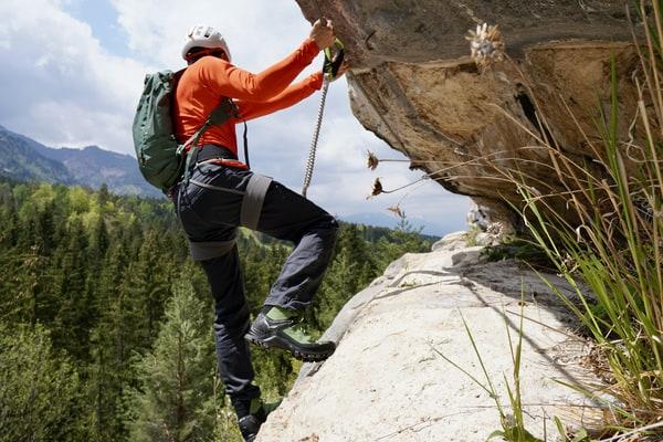 Klettersteig Rucksack Salewa Test