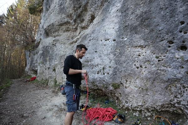Kletterseiltest Einfachseil Edelrid Boa
