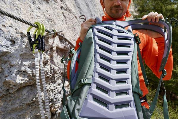 Rucksack Klettersteig Test.2
