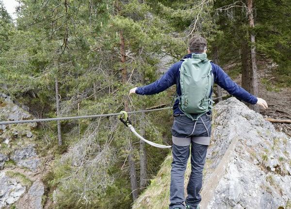 Rucksack Klettersteig Test.8