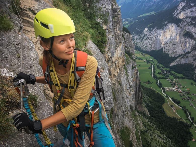 Klettersteig in der Schweiz