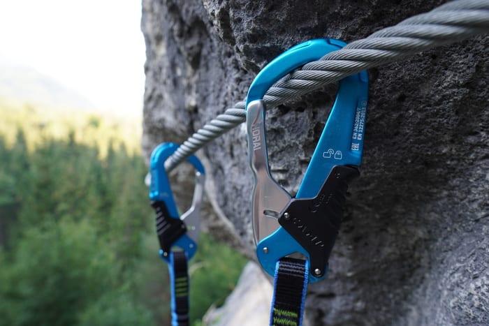 Karabiner Klettersteigset