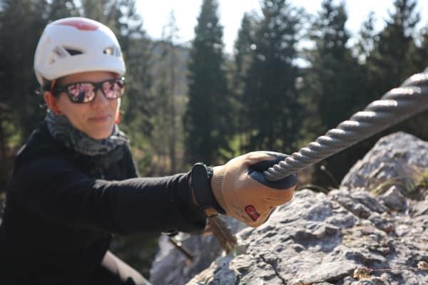 Klettersteighandschuhe kaufen test