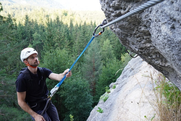 Klettersteigset Petzl 3