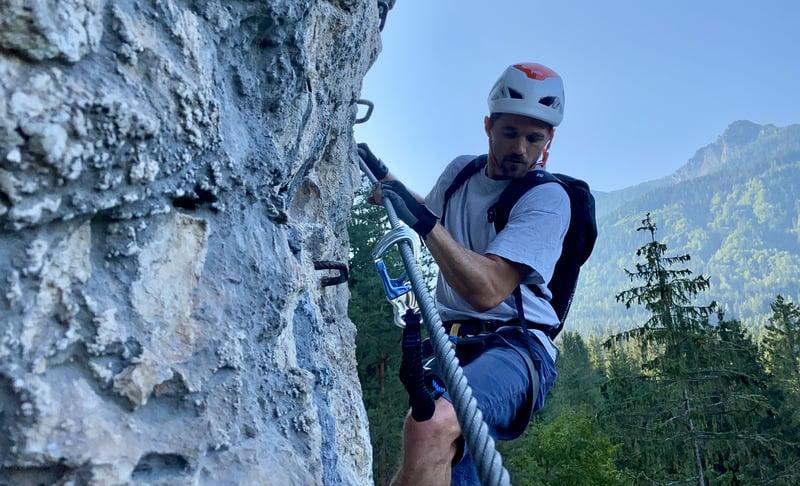 Klettersteigset Test Salewa