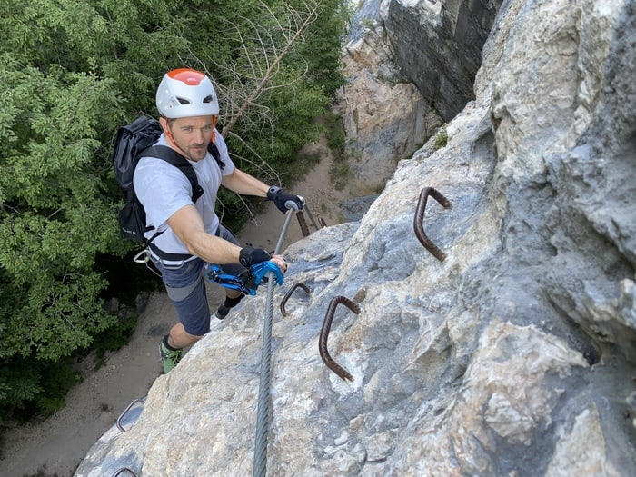 Klettersteigset Test 3