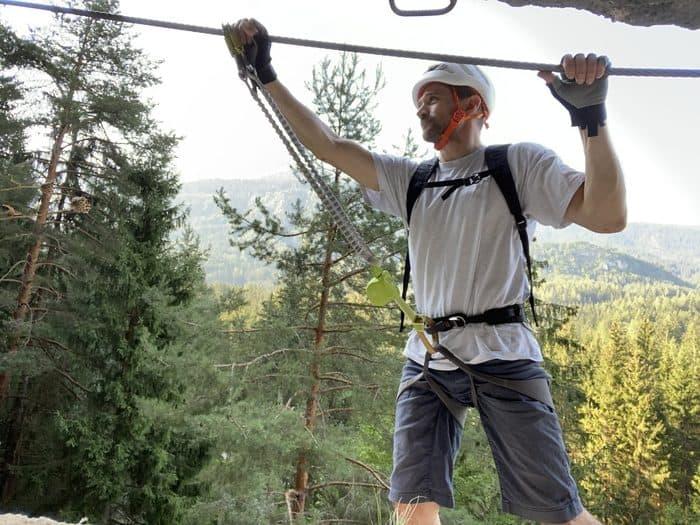 Klettersteigset Test 4
