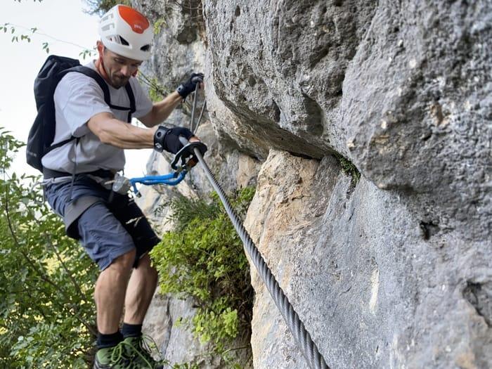 Klettersteigset Test 5