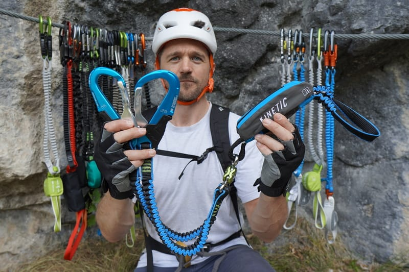 Klettersteigset Test Camp