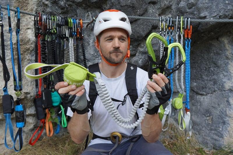 Klettersteigset Test Edelrid