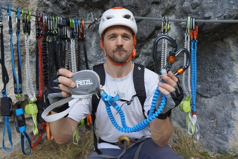 Klettersteigset Test Vertigo