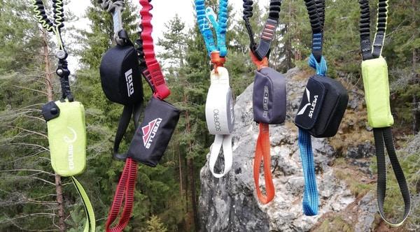 Klettersteigset test dämpfer