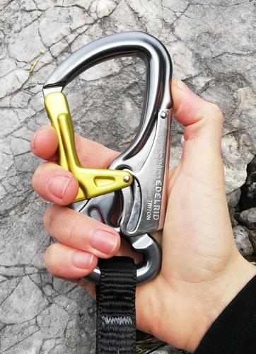 Klettersteigset test kinder