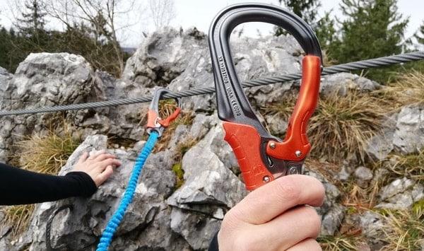Klettersteigset leicht