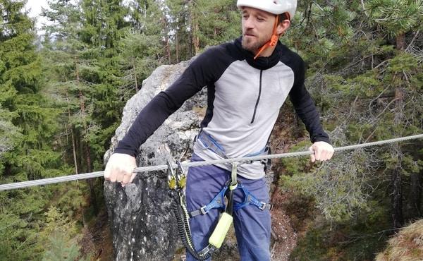 Kindertaugliches Klettersteigset