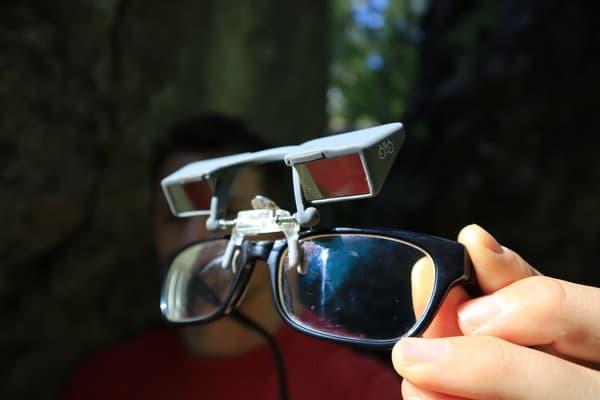 Sicherungs-Brillen-Clip klettern