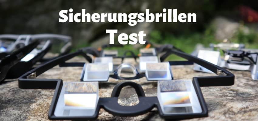 Sicherungsbrillen klettern test
