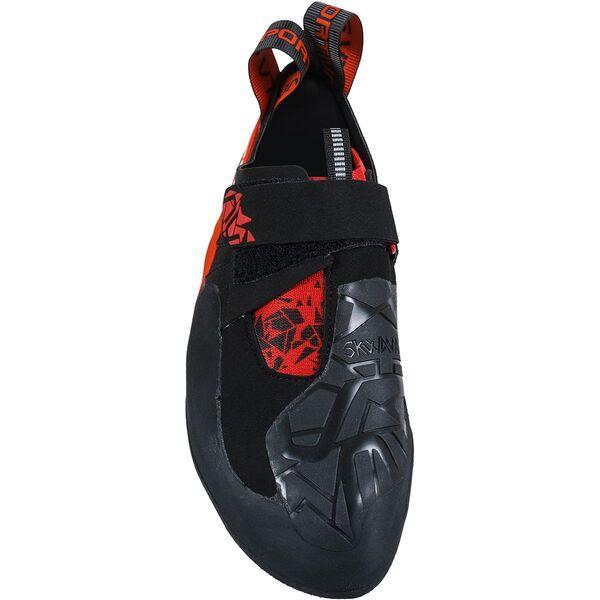 Skwama rot schwarz boulderschuh test