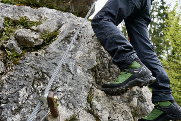 Klettersteigschuh test Salewa
