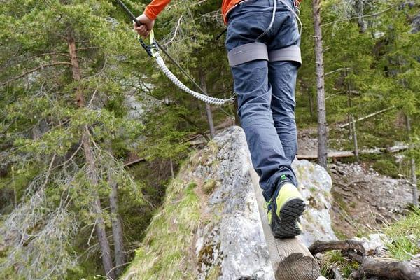 Zustiegsschuhe Test Klettersteig