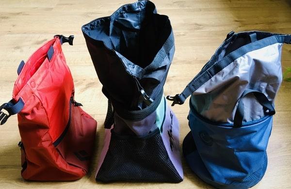 3 Chalkbags Boulderbag