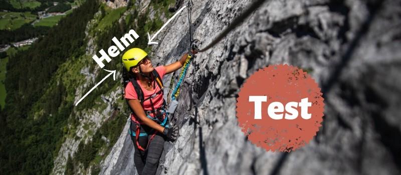 Klettersteig Helm Test
