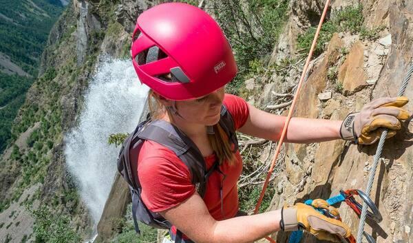 Klettersteig Helm Test5