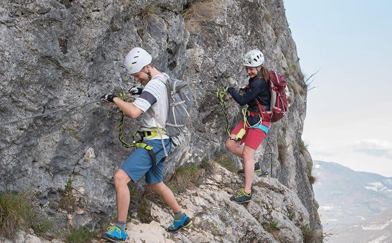 Klettersteig Helm Test6