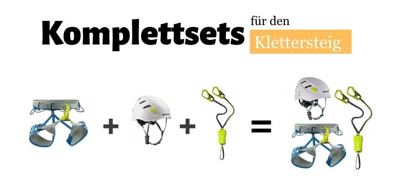 Klettersteig - Komplettsets im TEST