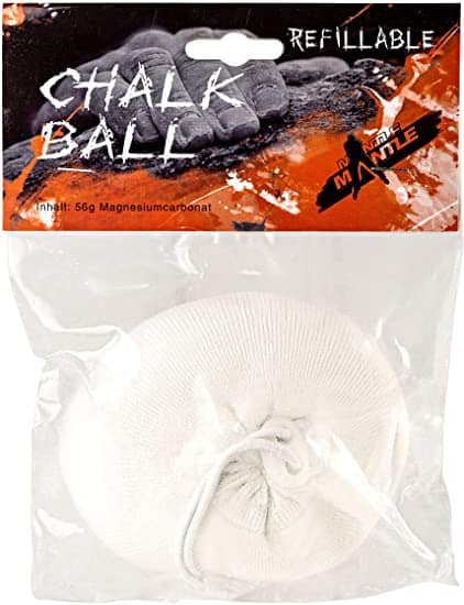 chalkball test mantle