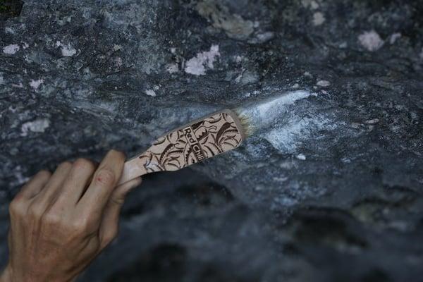 Griffbürsten Test Bouldern groß