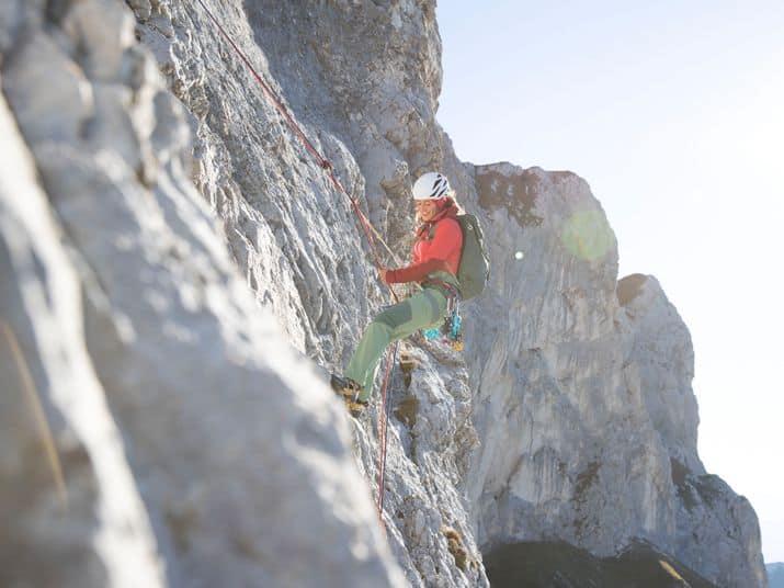 Kletterkurs Mehrseillängen