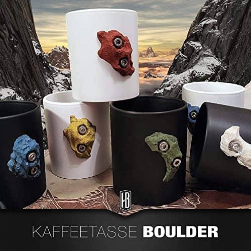 Kaffeetasse Klettern Geschenk