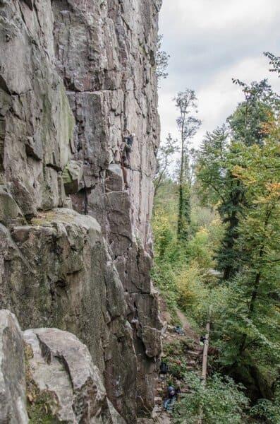 Albbruck klettern Schwazwald