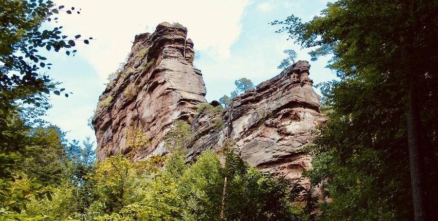 Asselstein Pfalz klettern