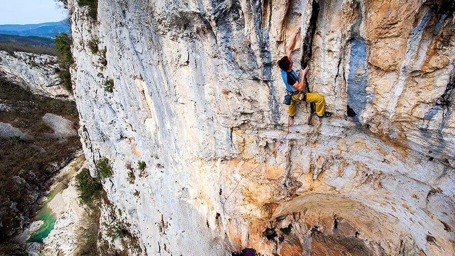 Buzetski Kanjon Kroatien klettern