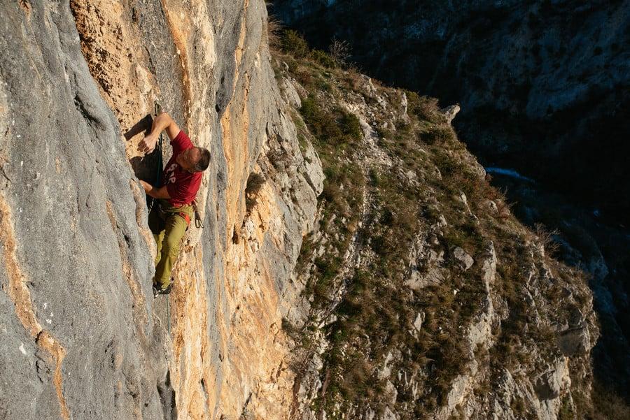 Čikola canyon klettern Kroatien1