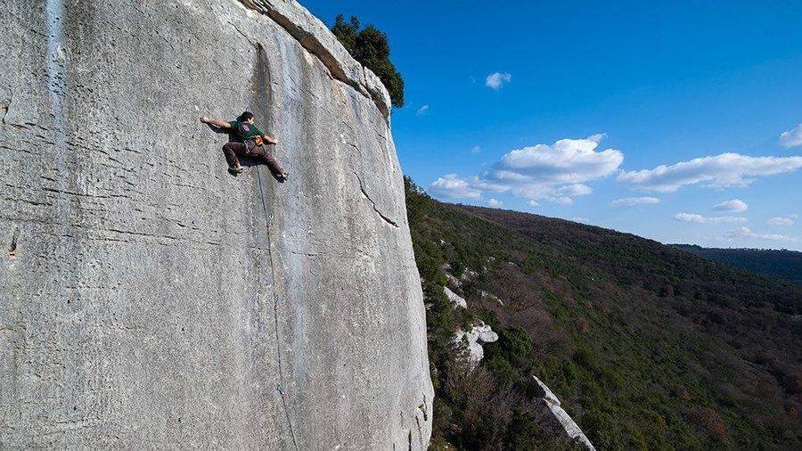 Divigrad Klettergebiet kroatien