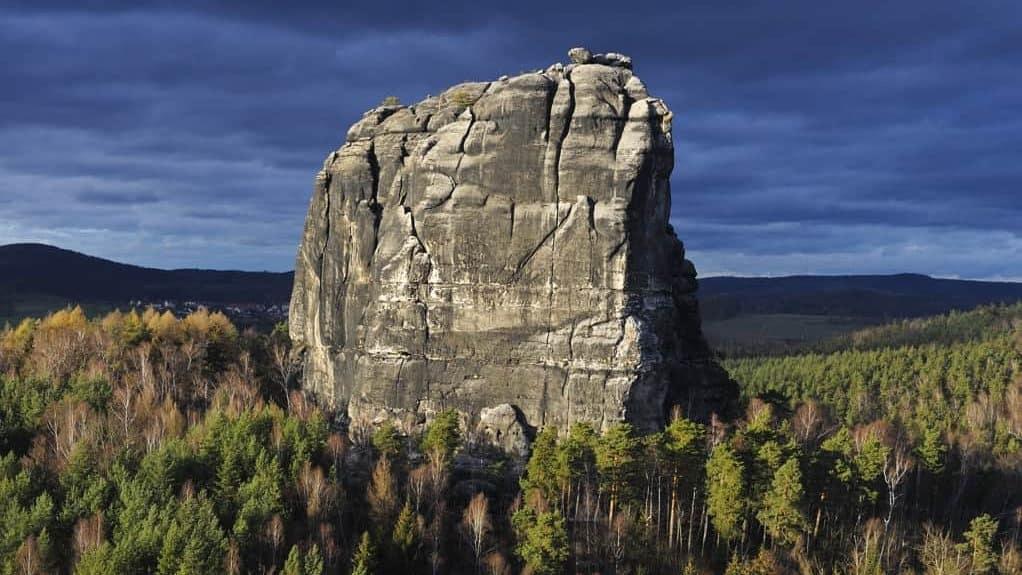 Falkenstein Klettergebiet Elbsandstein