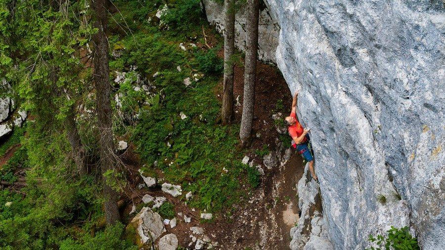 Golubinjak Klettern Kroatien Istrien