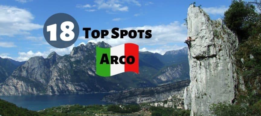 Klettern in Arco Klettergebiete