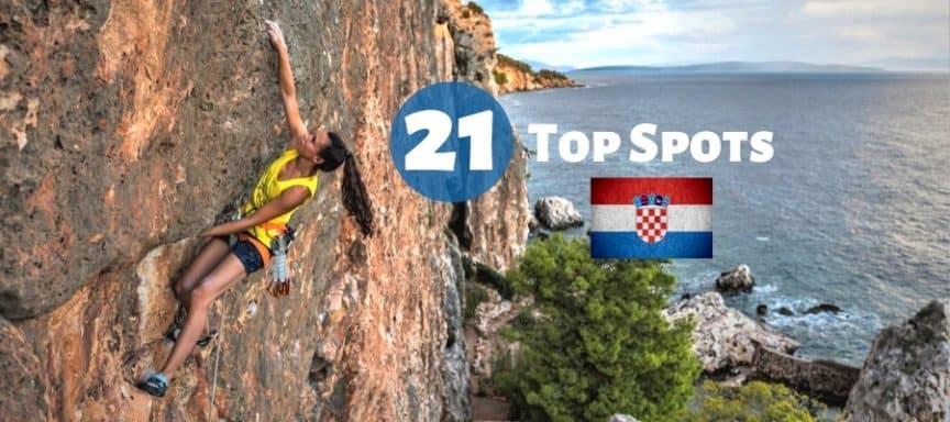 Klettern in Kroatien Klettergebiete