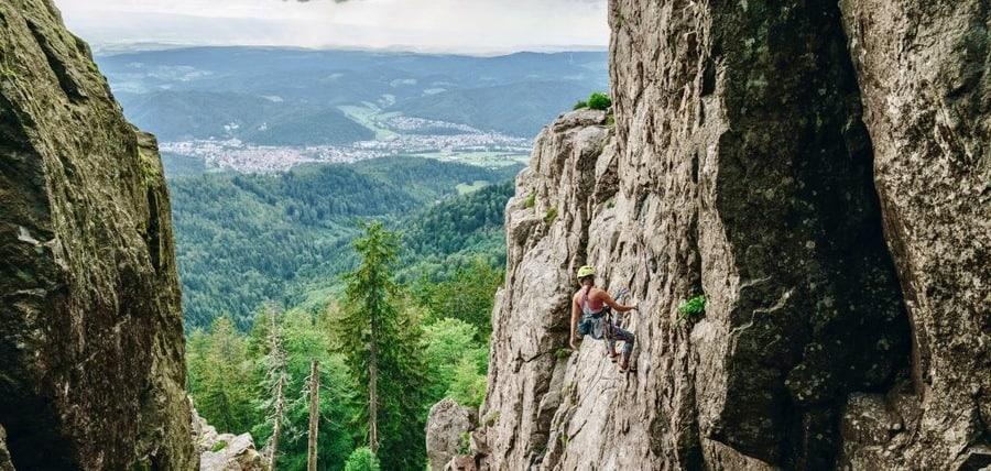 Klettern schwarzwald