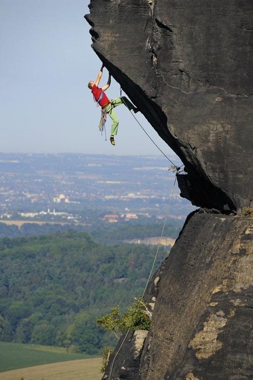 Lilienstein Elbsandstein klettern